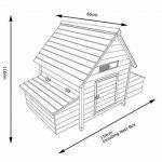 Chicken House 4-6 Bird size