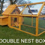 Cocoon 600 Chicken Coop attached