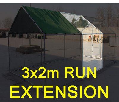 3x2M Extension / Walk in Run