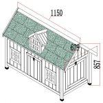 Chicken House Barn Blue Design