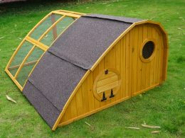 Hobbit Hole Chicken Coop + Chicken Run Design