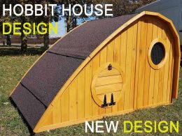 chicken coop hobbit hole